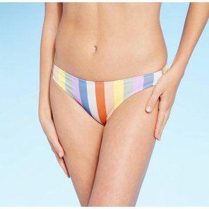 Juniors' Ribbed Cheeky Bikini Bottom - Xhilaration